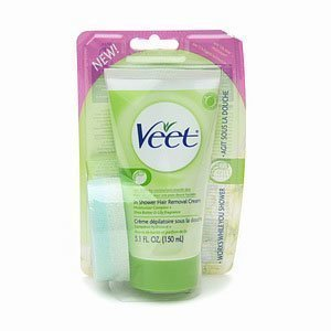 -50% Veet In Shower Hair Removal Cream 150 ml Kuivalle Iholle