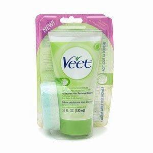 -50% Veet In Shower Hair Removal Cream 150 ml Kuivalle Iholle