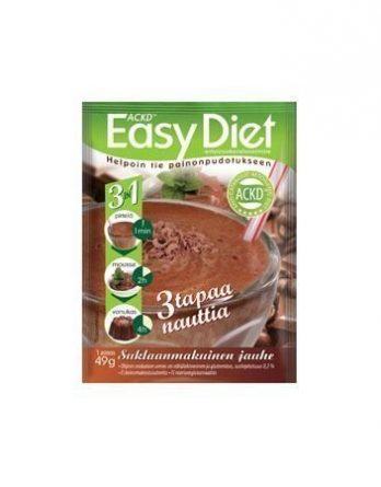 ACKD Easy Diet 3 in 1 Suklaapirtelö 15 kpl (laatikko)