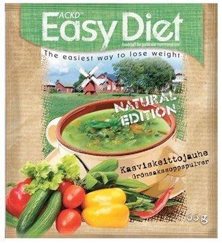 ACKD Easy Diet Kasviskeittojauhe 15 kpl pakkaus