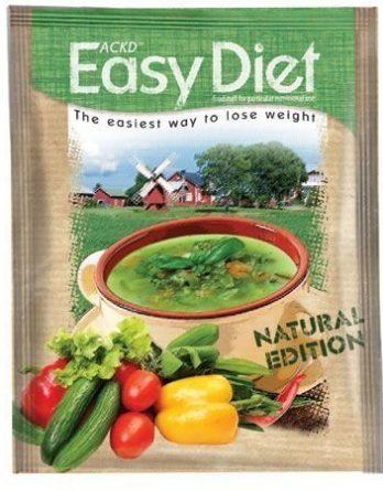 ACKD Easy Diet Natural Kasviskeitto 15 kpl (laatikko)