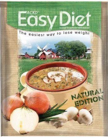 ACKD Easy Diet Natural Sieni-Sipulikeitto 15 kpl (laatikko)