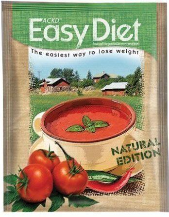 ACKD Easy Diet Natural Tomaatti-Chilikeitto 15 kpl (laatikko)