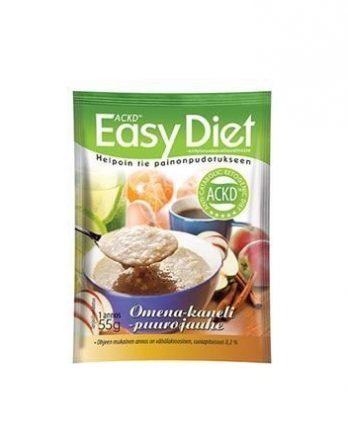 ACKD Easy Diet Omena-kanelipuuro 15 kpl (laatikko)