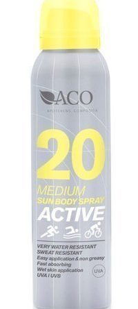 ACO Active Sun Body Spray SPF 20 125 ml