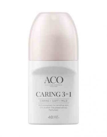 ACO Caring 3-in-1 antiperspirantti 50 ml