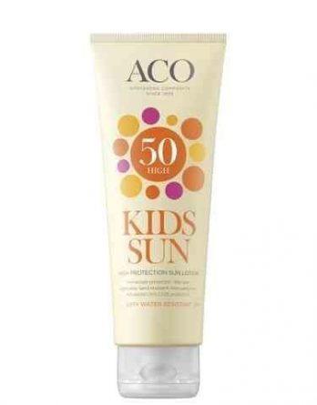 ACO Kids Sun High Protection Sun Lotion SPF 50 250 ml