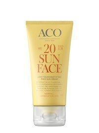 ACO Light Touch Mattifying Face Sun Cream SPF 20 50 ml