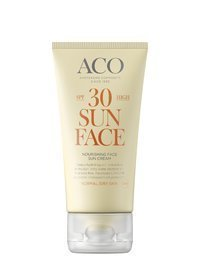 ACO Nourishing Face Sun Cream SPF 30 50 ml