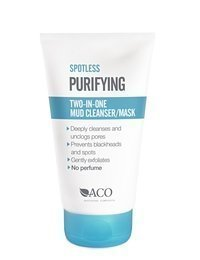 ACO SPOTLESS Purifying 2 in 1 Mud Cleanser/Mask 150 ml