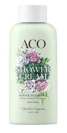 ACO Shower Cream White Flowers 200 ml