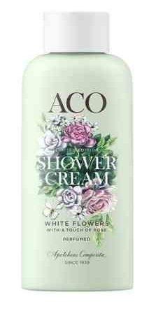 ACO Shower Cream White Flowers 200 ml
