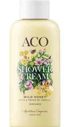 ACO Shower Cream Wild Honey 200 ml