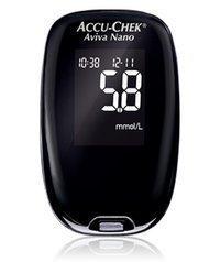 Accu-Chek Aviva Nano verensokerimittari + lansettikynä