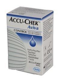 Accu-Chek Aviva kontrolliliuos 2 x 2