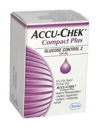 Accu-Chek Compact plus kontrolliliuos 1 x 4 ml