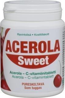 Acerola Sweet C-vitamiinivalmiste 250 purutabl. POISTOTUOTE