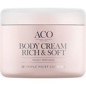 Aco Body Cream Rich & Soft 200 ml Hajustettu