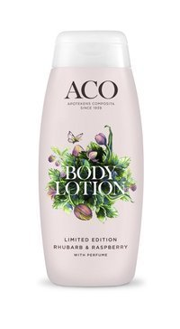 Aco Body Lotion Rhubarb & Raspberry 200 ml