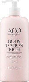 Aco Body Lotion Rich 400 ml Hajustettu