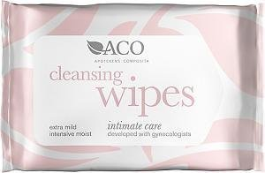 Aco Intimate Care Cleansing Wipes Hajustamaton 10 kpl