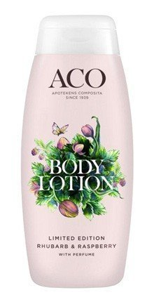 Aco Limited Edition Body Lotion Rhubarb & Raspberry 200 ml