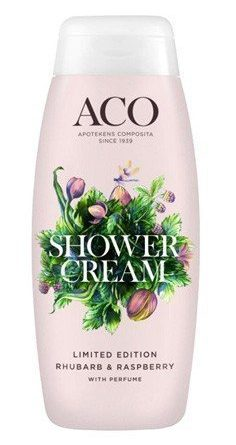 Aco Limited Edition Shower Cream Rhubarb & Raspberry 200 ml
