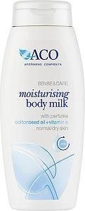 Aco Sense & Care Moisturising Body Milk 250 ml Hajustettu