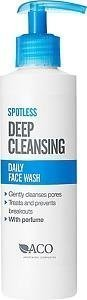 Aco Spotless Daily Face Wash 200 ml Hajustettu