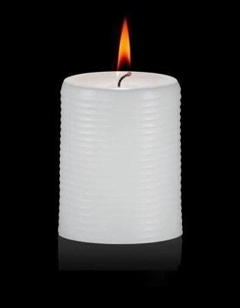Aihio Aino Aalto® kynttilä valkoinen