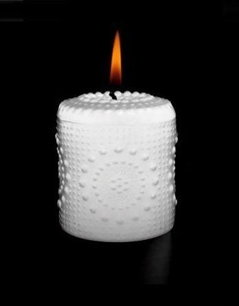Aihio Grapponia kynttilä valkoinen