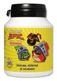 Angry Birds Epic D3-vitamiini 180 purutablettia