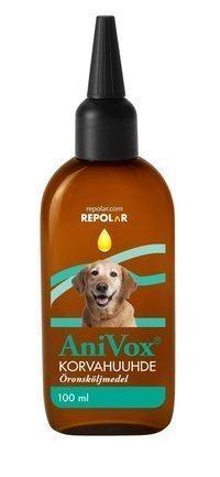 AniVox korvahuuhde 100 ml