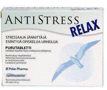 AntiStress rentouttava valmiste 40 tabl.