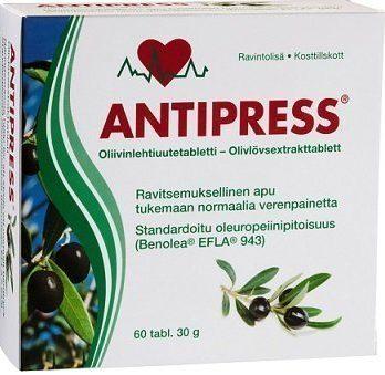 Antipress oliivinlehtiuutevalmiste 60 tabl