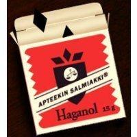 Apteekin salmiakki Haganol 15 g