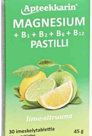Apteekkarin Magnesium + B1