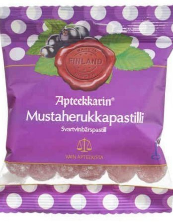Apteekkarin Mustaherukkapastilli 80 g