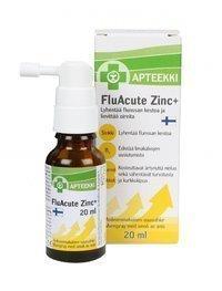 Apteekki FluAcute Zinc+ 20 ml