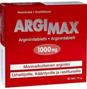 Argimax arginiinivalmiste 60 tabl