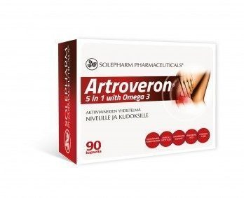 Artroveron 5 in 1 with Omega-3 90 kapselia