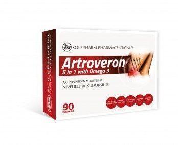 Artroveron 5 in 1 with Omega-3 90 kapselia
