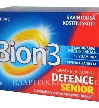 BION3 Defence Senior 60 tablettia