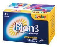 BION3 Junior 30 purutablettia