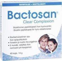 Bactosan Clear Complexion 40 kapselia