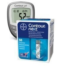 Bayer Contour Next -liuskat 50 kpl