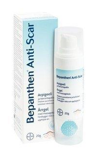 Bepanthen Anti-Scar arpigeeli 20 g + hierontapallo