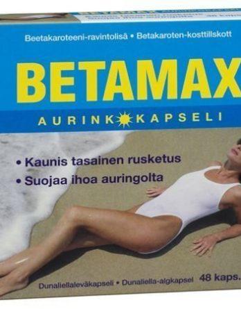 Betamax Aurinkokapseli 48 kaps