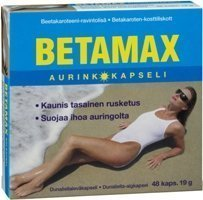 Betamax aurinkokapseli 100 kaps.
