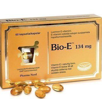 Bio-E 134 mg 60 kapselia